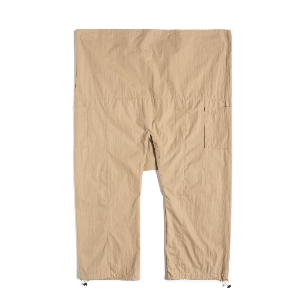 STRING WRAP PANTS BEIGE