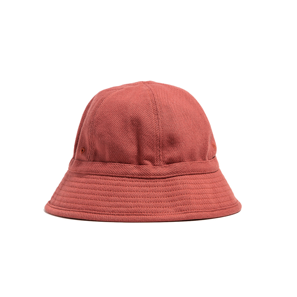 "6PANEL FRENCH BUCKET HAT ""CORAL"""