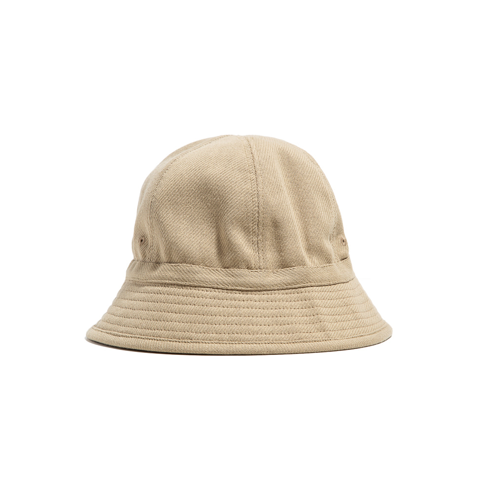 "6PANEL FRENCH BUCKET HAT ""BEIGE"""