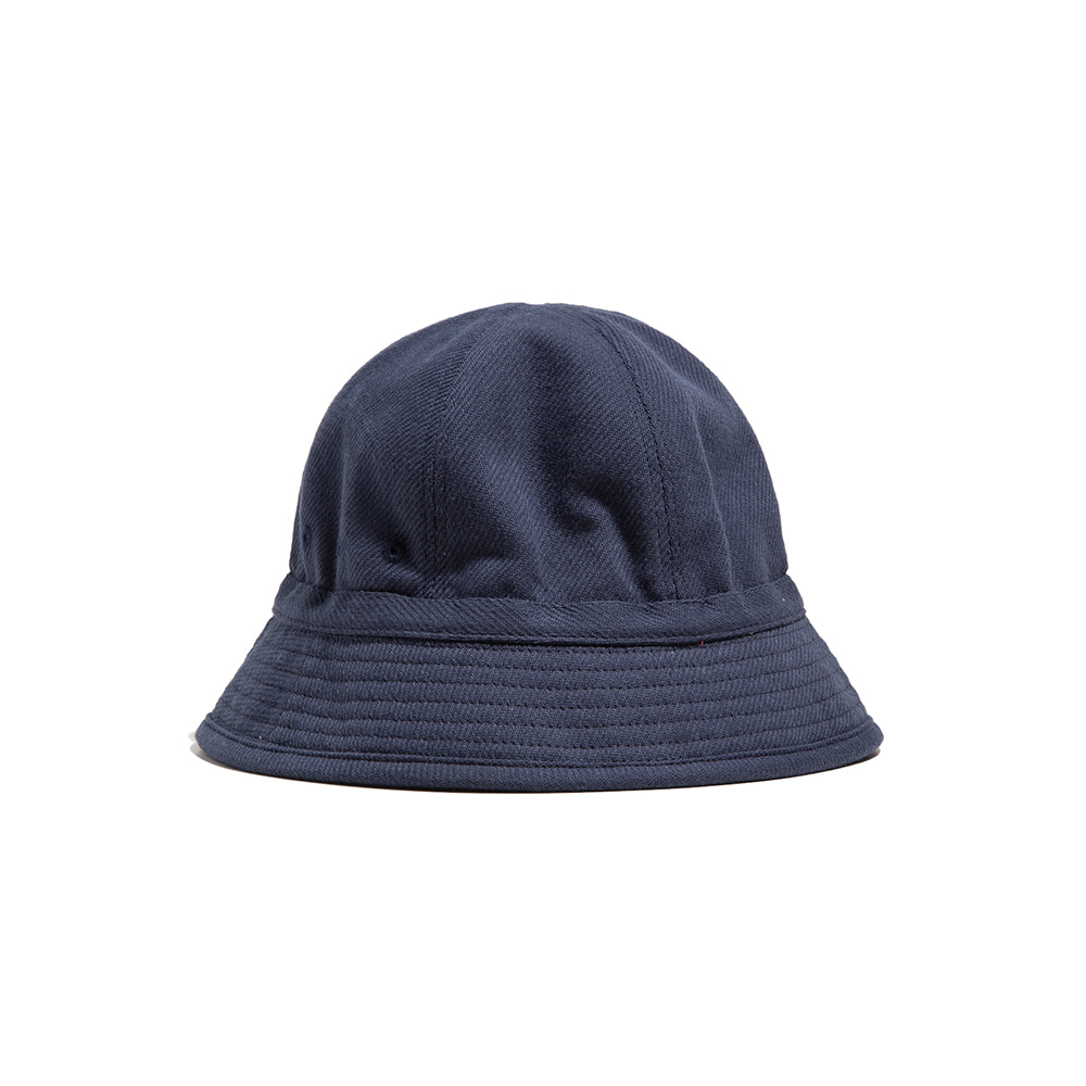 "6PANEL FRENCH BUCKET HAT ""NAVY"""