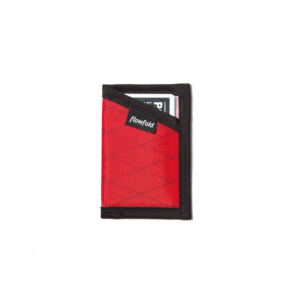 "Minimalist Card Holder LTD ""BICYCLE RED"""