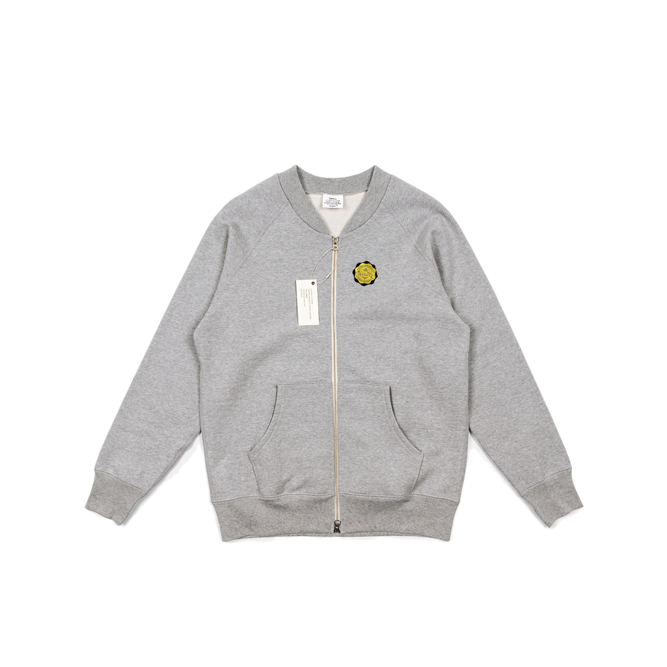 "Sweat Zip Up ""Grey"""