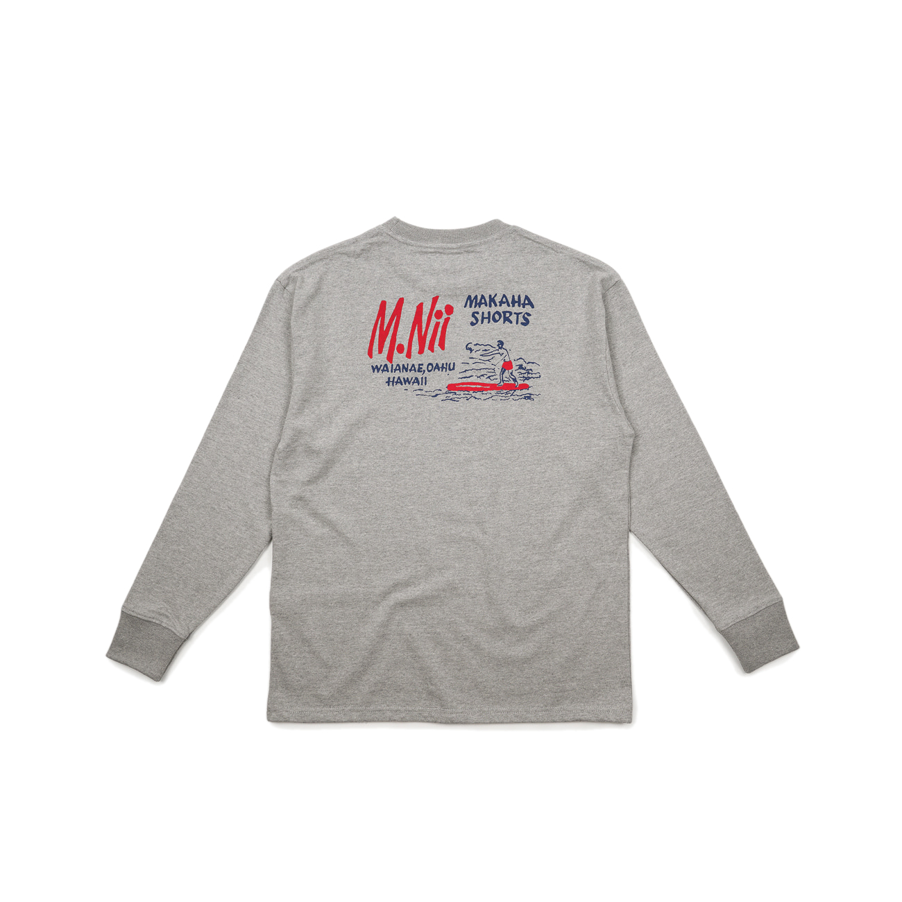 "18FW  Basic Logo Long Sleeve ""Grey"""