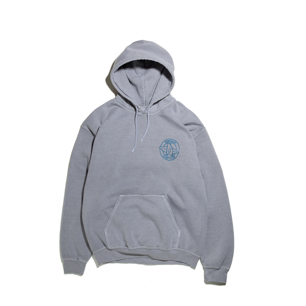 "Penguin Surf HOODY ""PIGMENT LIGHT GREY"""