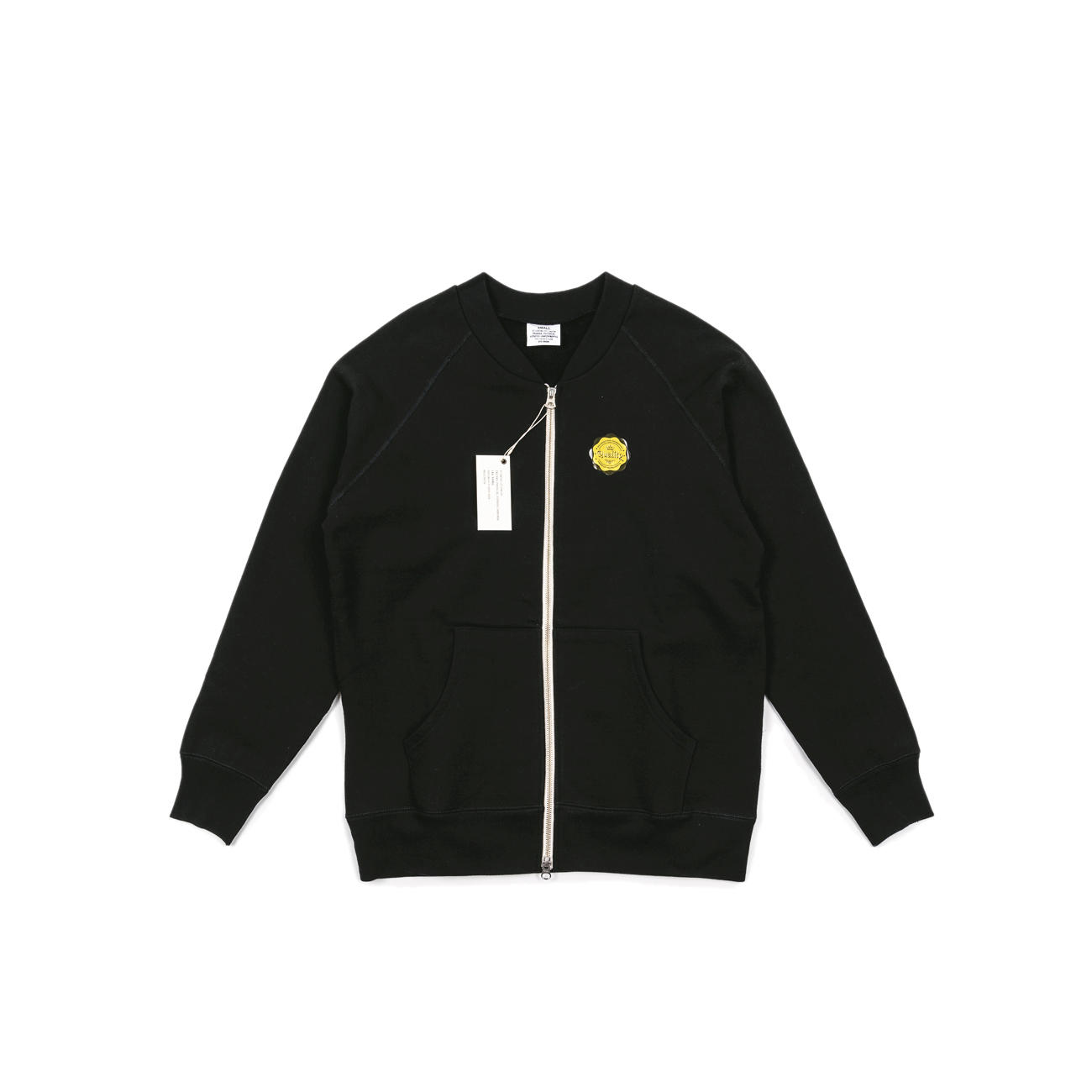 "Sweat Zip Up ""Black"""