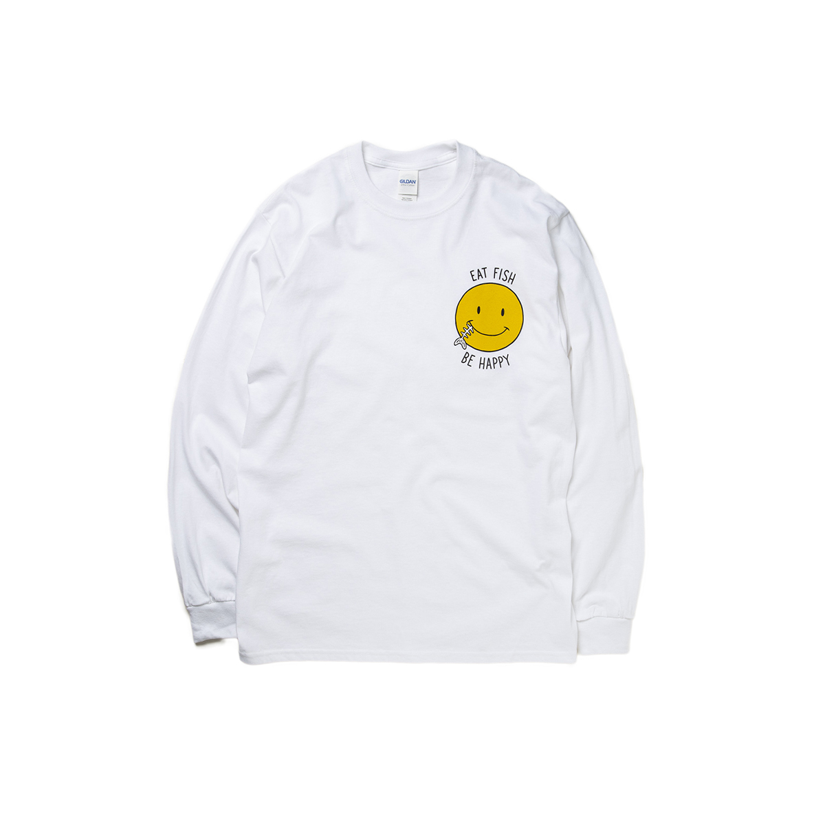 Smile fish LONG SLEEVE