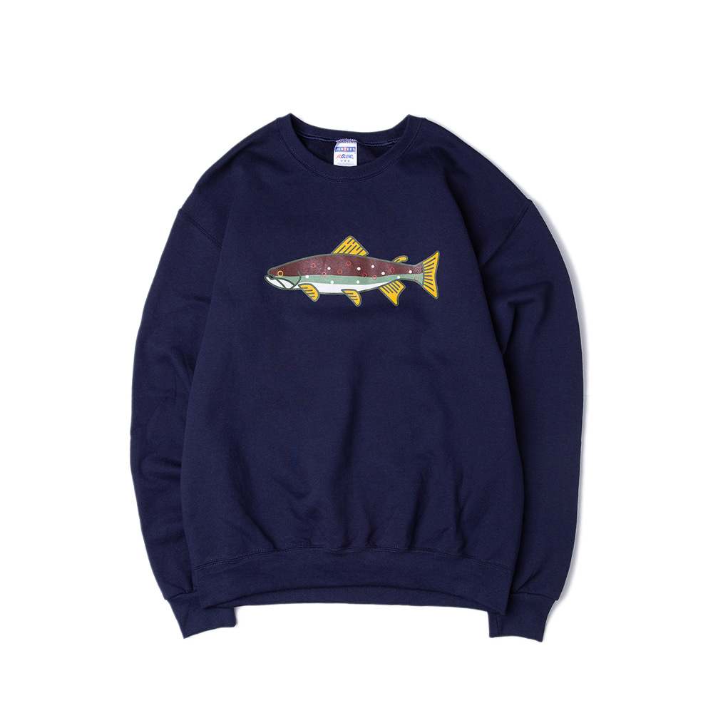 Trouts Crewneck Sweatshirt