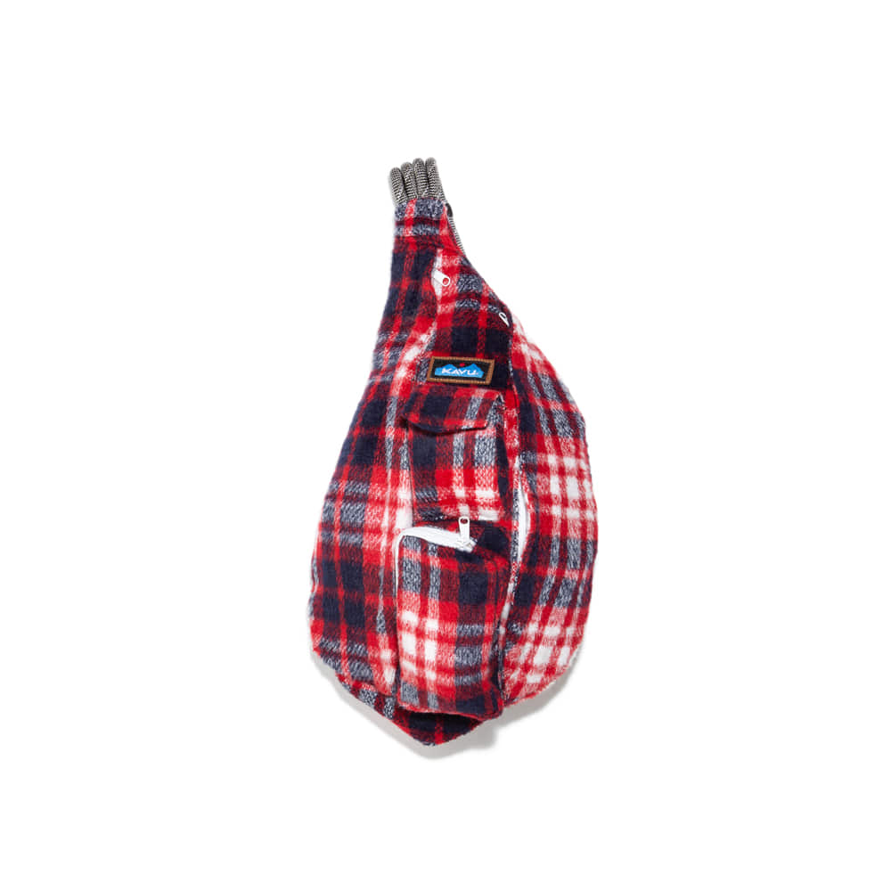 "Rope Bag Plaid Rope Bag ""AMERICANA"""