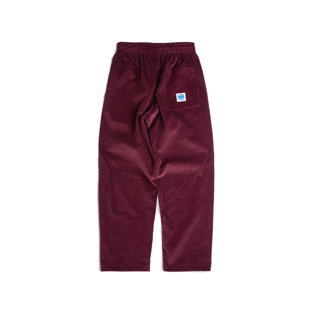 "Ocean-Fit Corduroy Pants ""BORDEAUX WINE"""