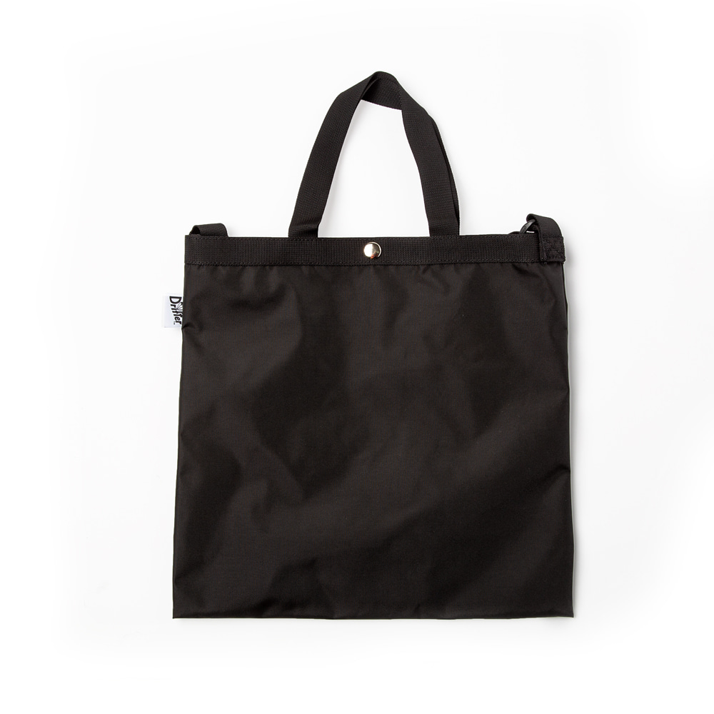 ELEMENTARY TOTE - BLACK