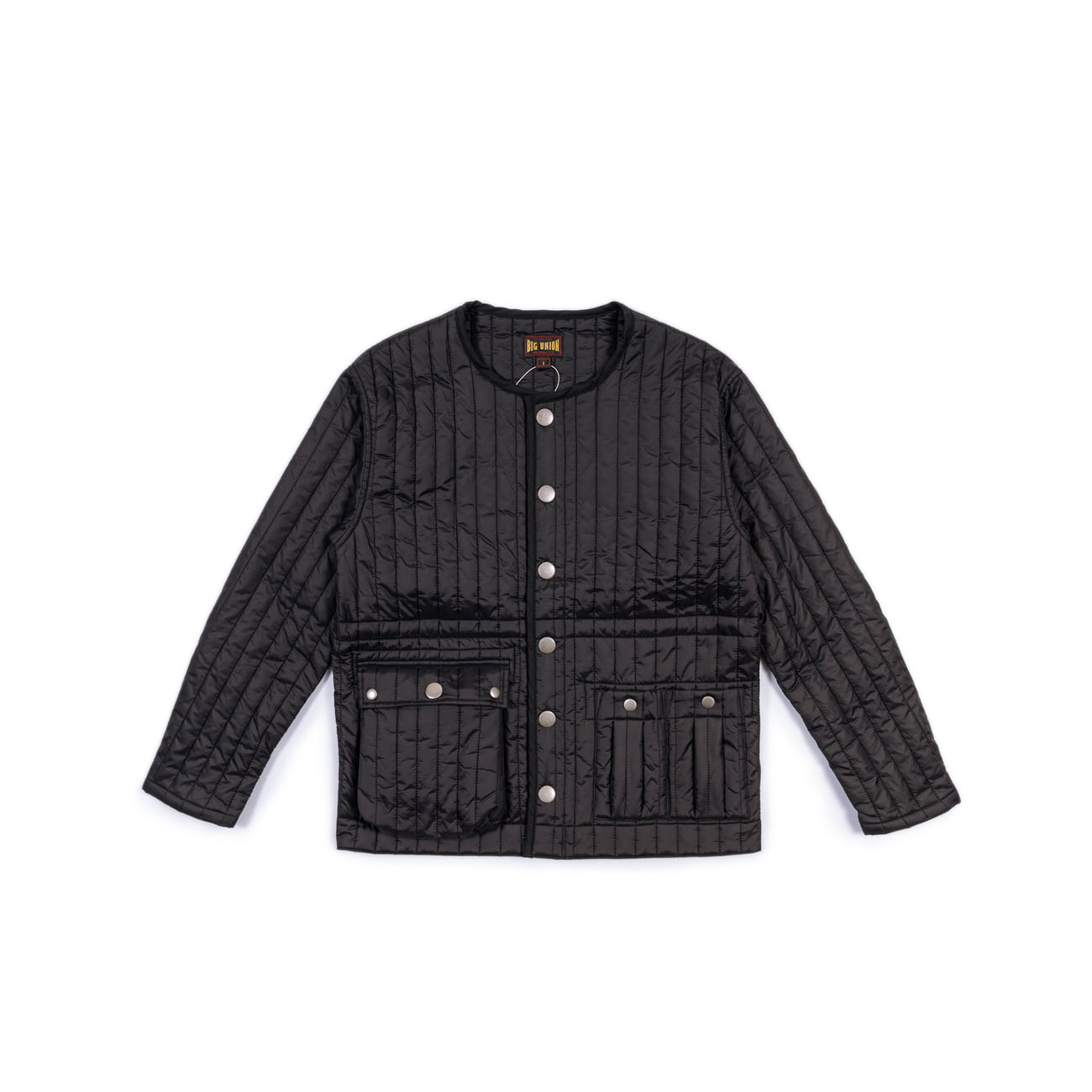 "Inner Quilted Jacket ""BLACK""이너로 입는 내피"