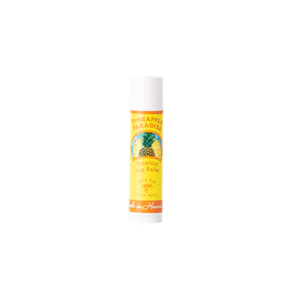 "Tropical Lip Balm Stick ""PINEAPPLE PARADISE"""