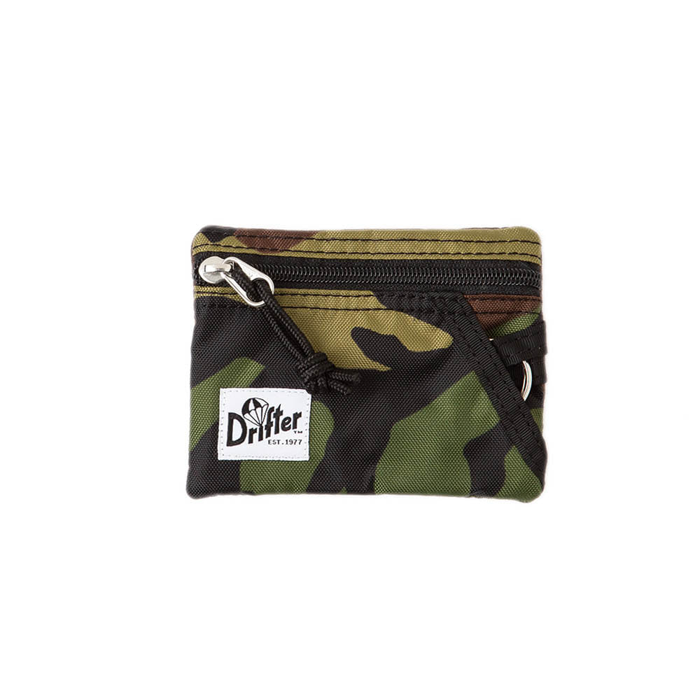 KEY COIN POUCH - WOODLAND CAMO