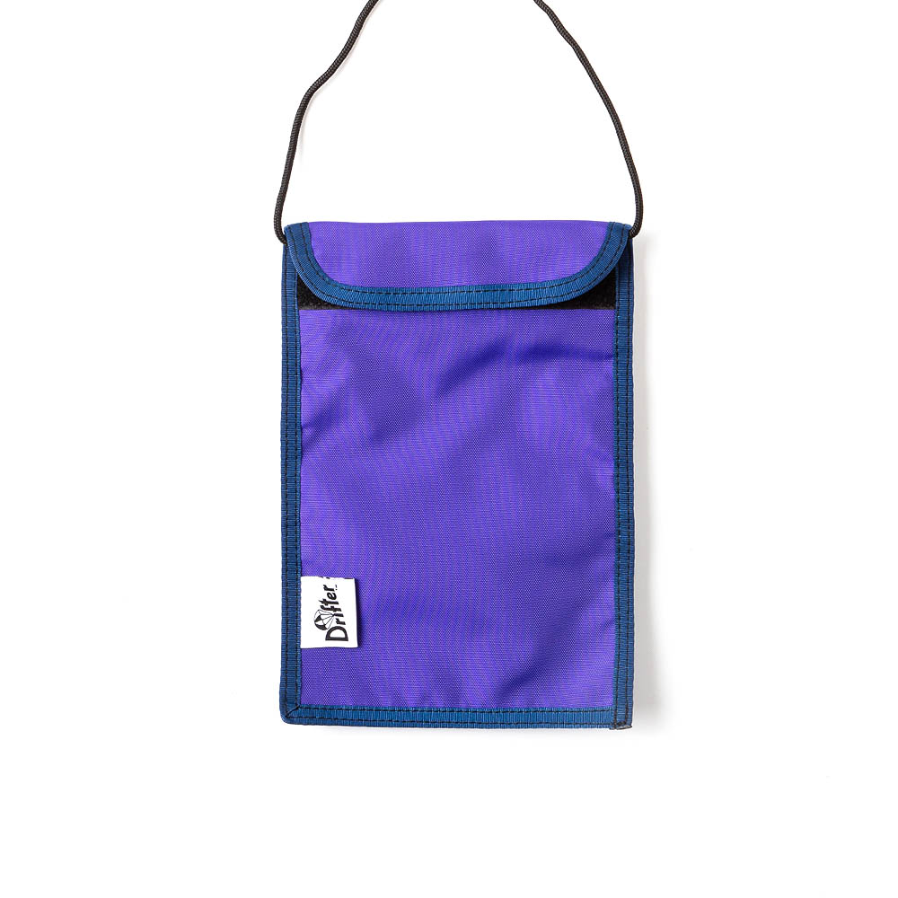 "Neck Pouch ""AMETHYST"""