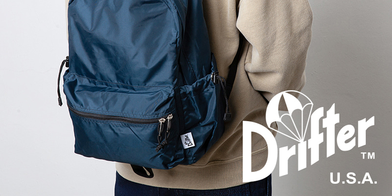 with Drifter Bag