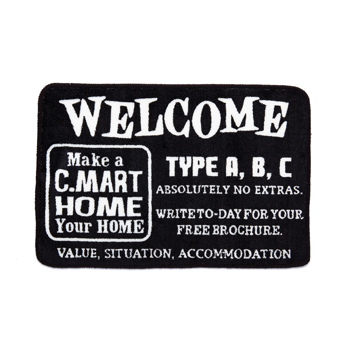 "Floor Mat ""HOME"""