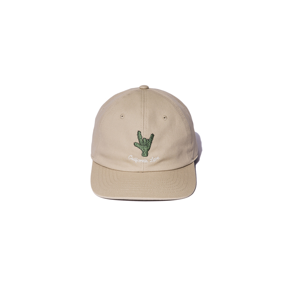 "Embroidery Baseball Cap ""BEIGE"""