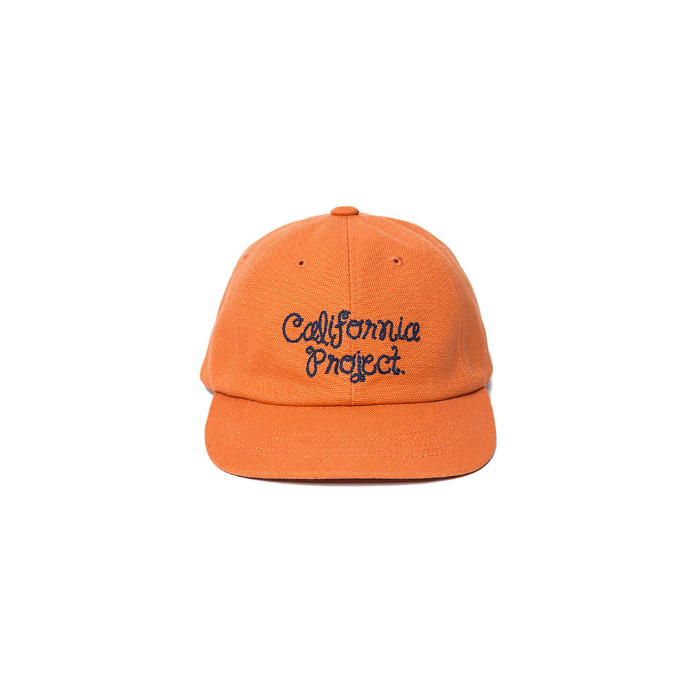 "Embroidery Ball Cap ""ORANGE"""