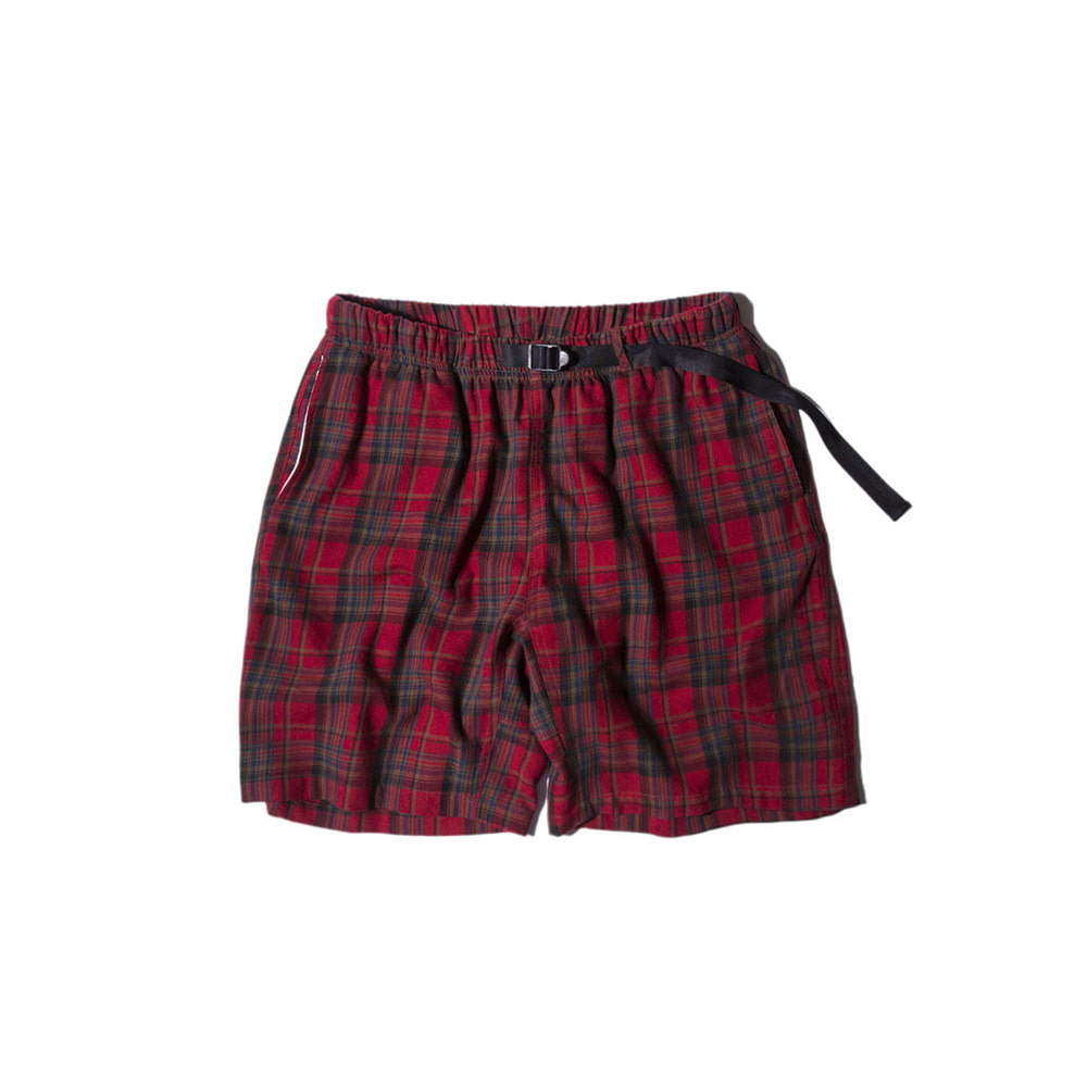 "Pile Pocket Easy Shorts ""RED"""