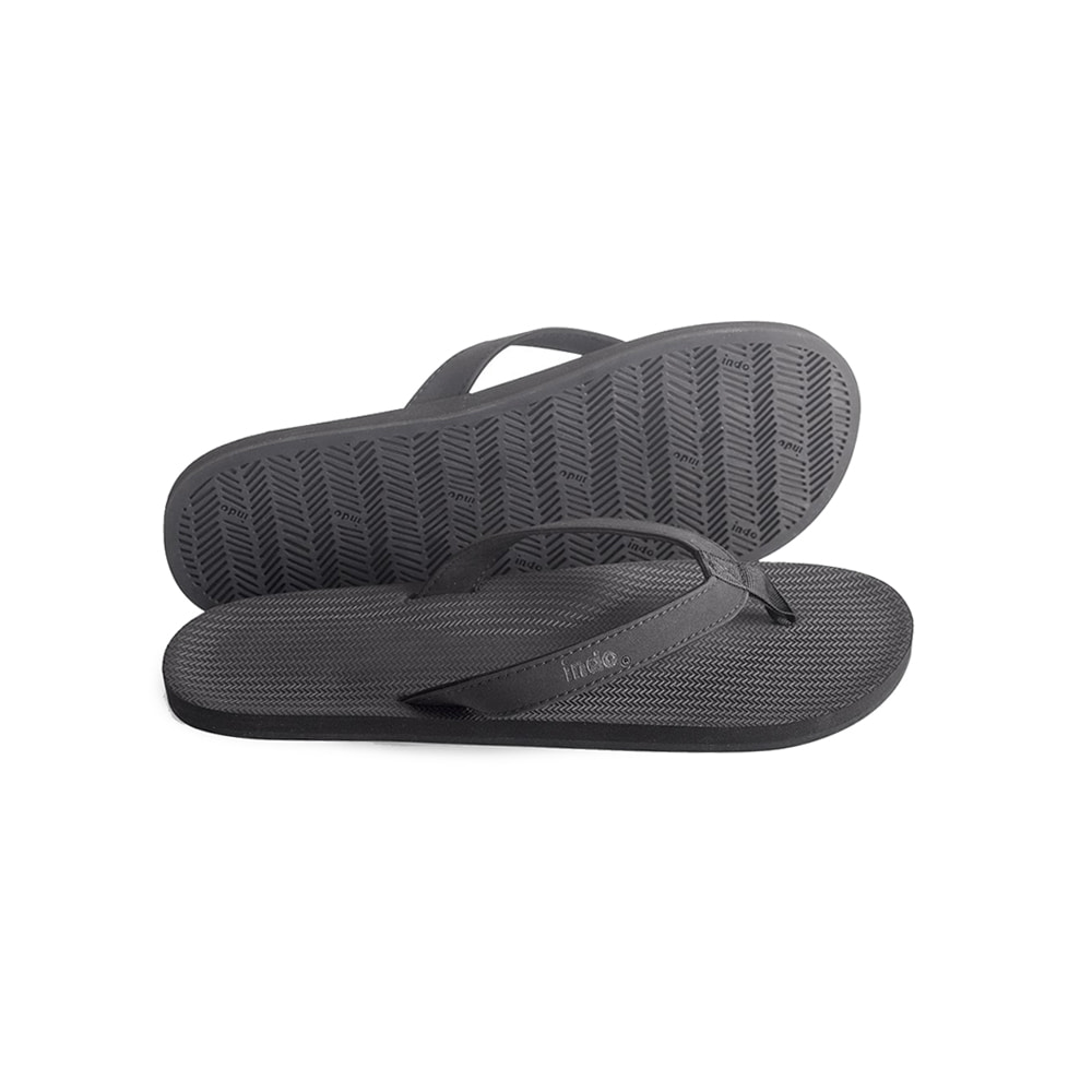"Men's ESSNTLS Flip Flops ""BLACK"""