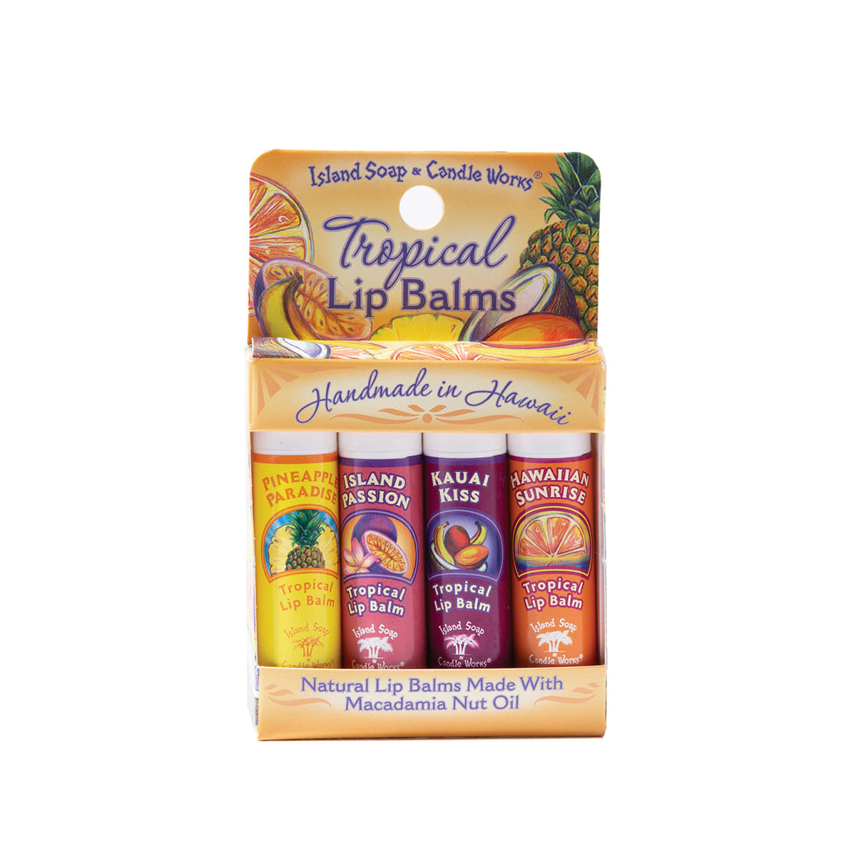 "Tropical Lip Balm Stick ""SAMPLER PACK"""