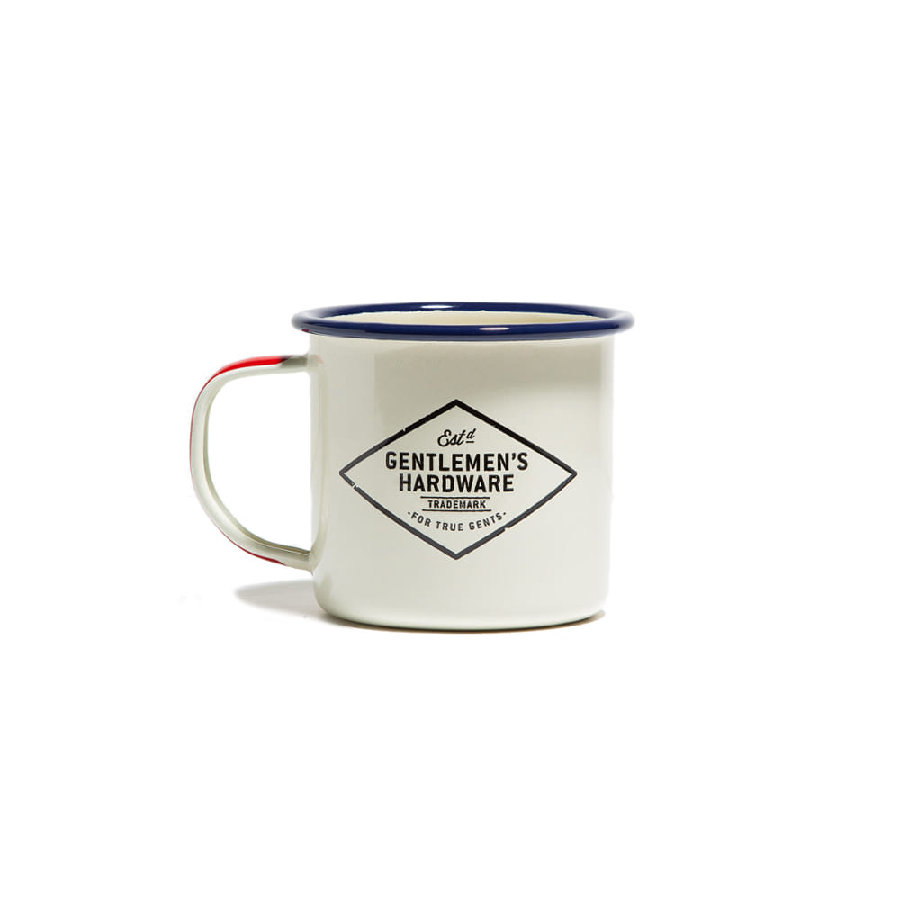 "Enamel Mug ""CREAM"""