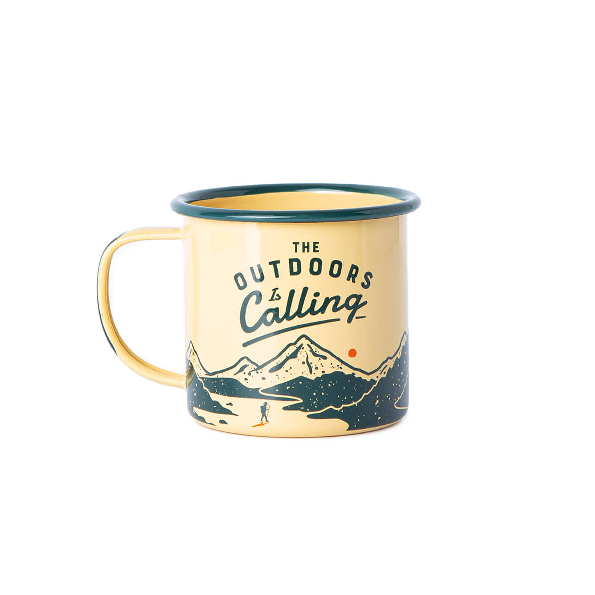 "Enamel Mug ""OUTDOOR"""
