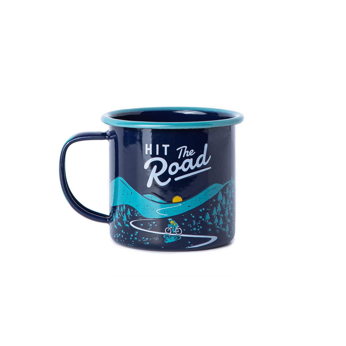"Enamel Mug ""BICYCLE"""
