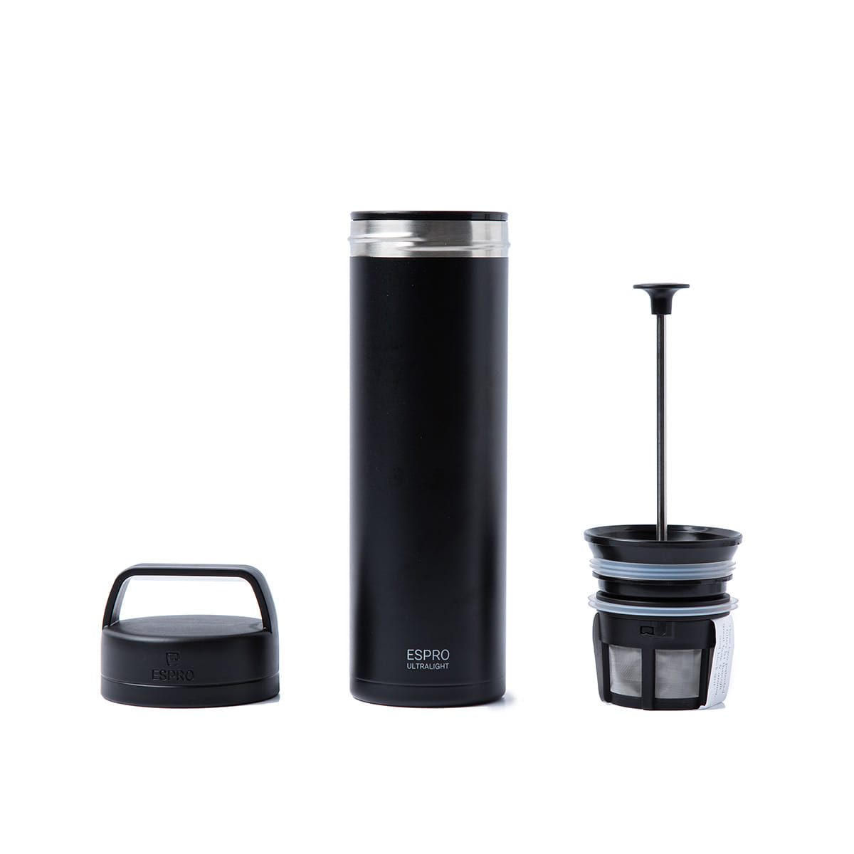 "Ultralight Coffee Press ""BLACK"""