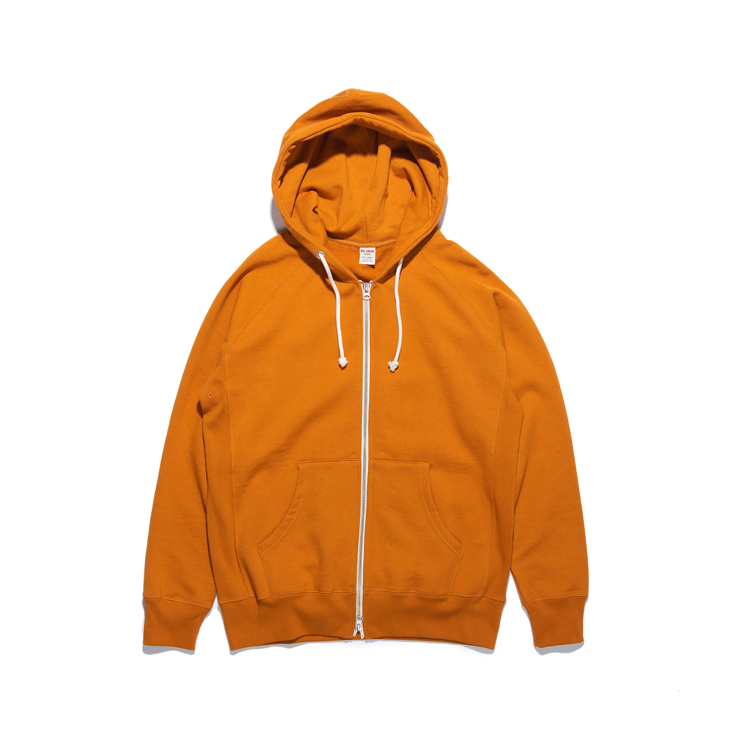"Let Us Sweat Zip Up Hoody ""ORANGE"""