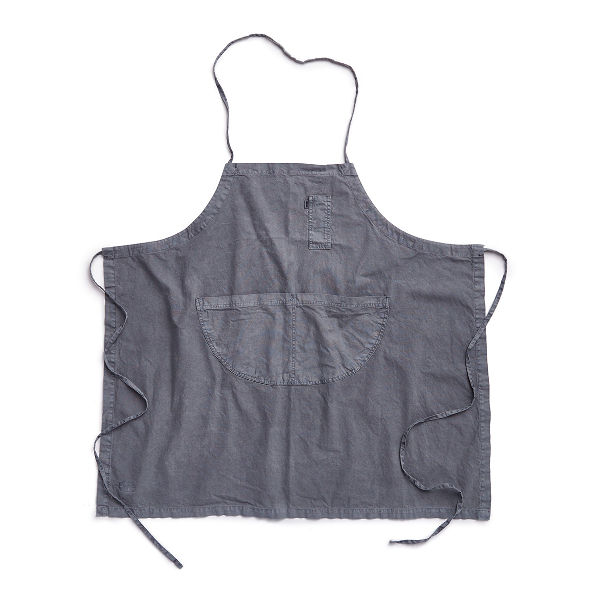 "Pigment Apron Long ""L.GRAY"""