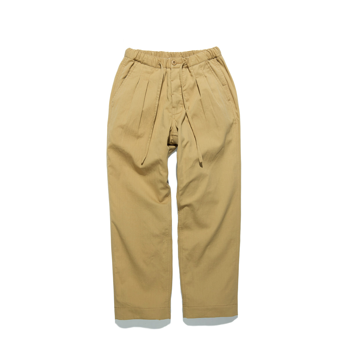 "Warm Tone Easy Pants ""BEIGE"""