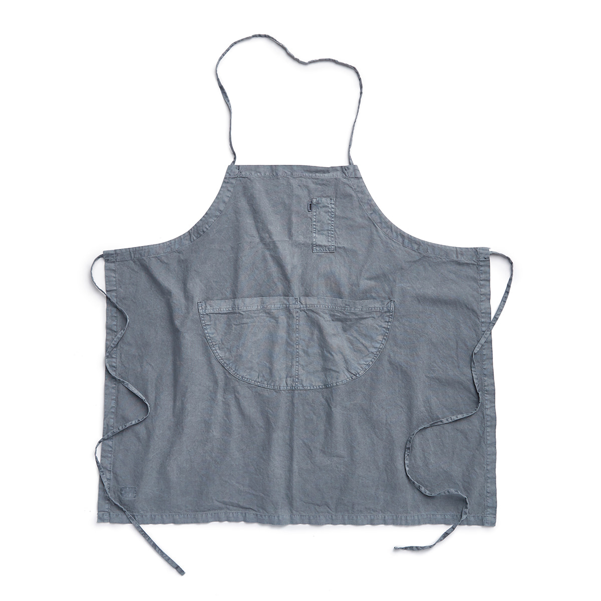 "Pigment Apron Long ""L.BLUE"""