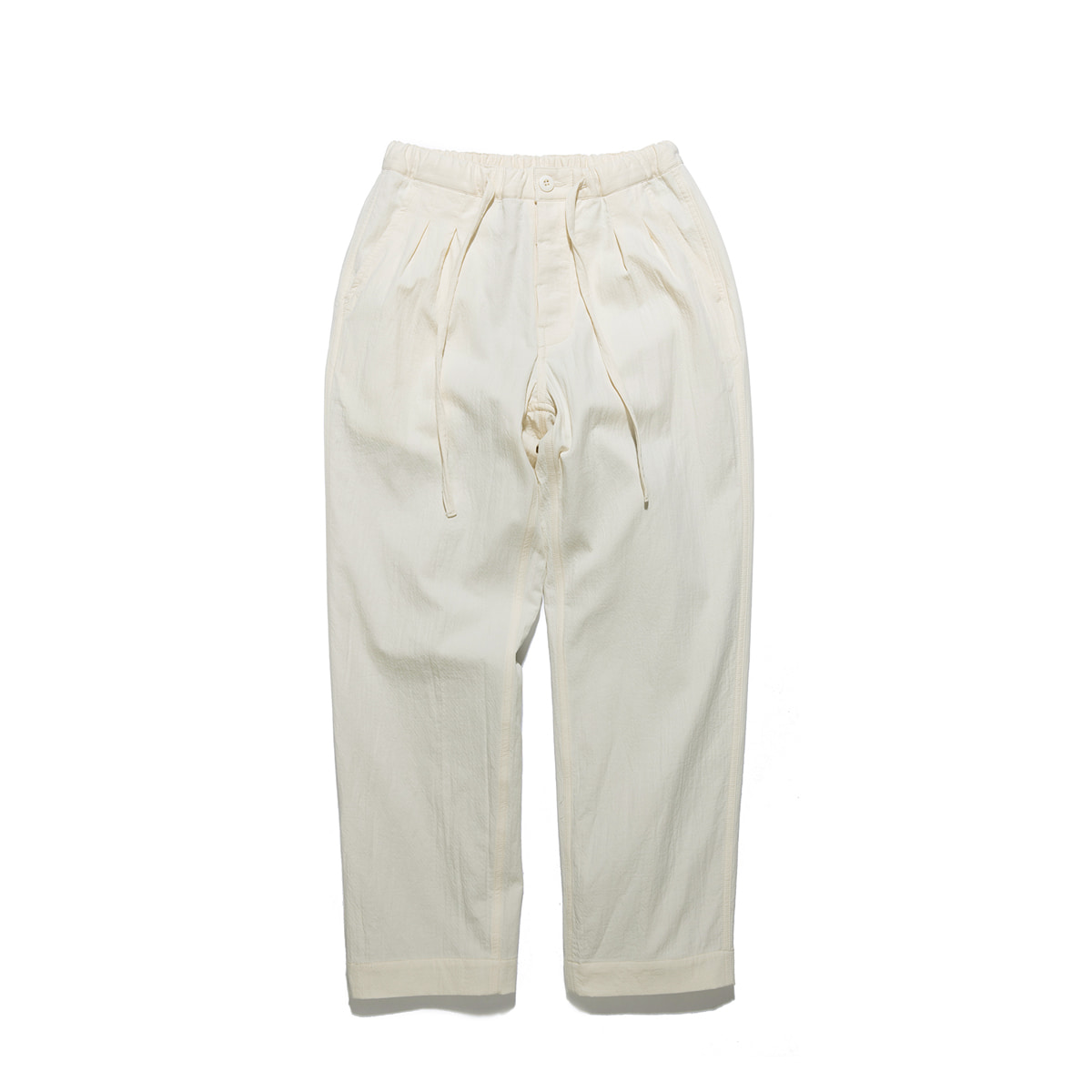 "Warm Tone Easy Pants ""OFF WHITE"""