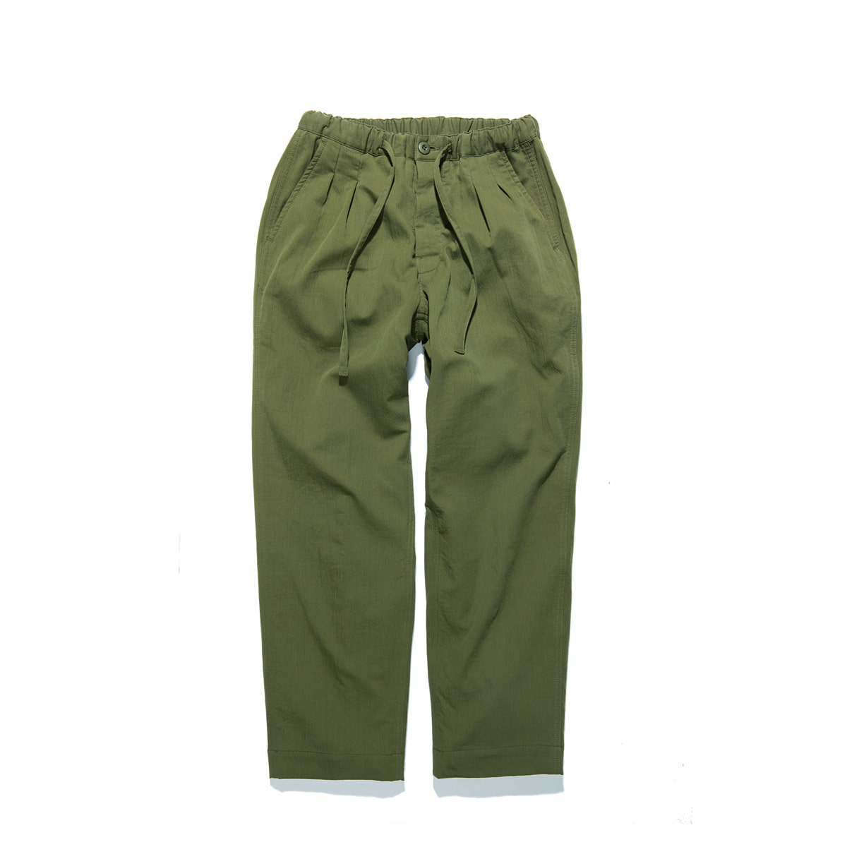 "Warm Tone Easy Pants ""OLIVE"""