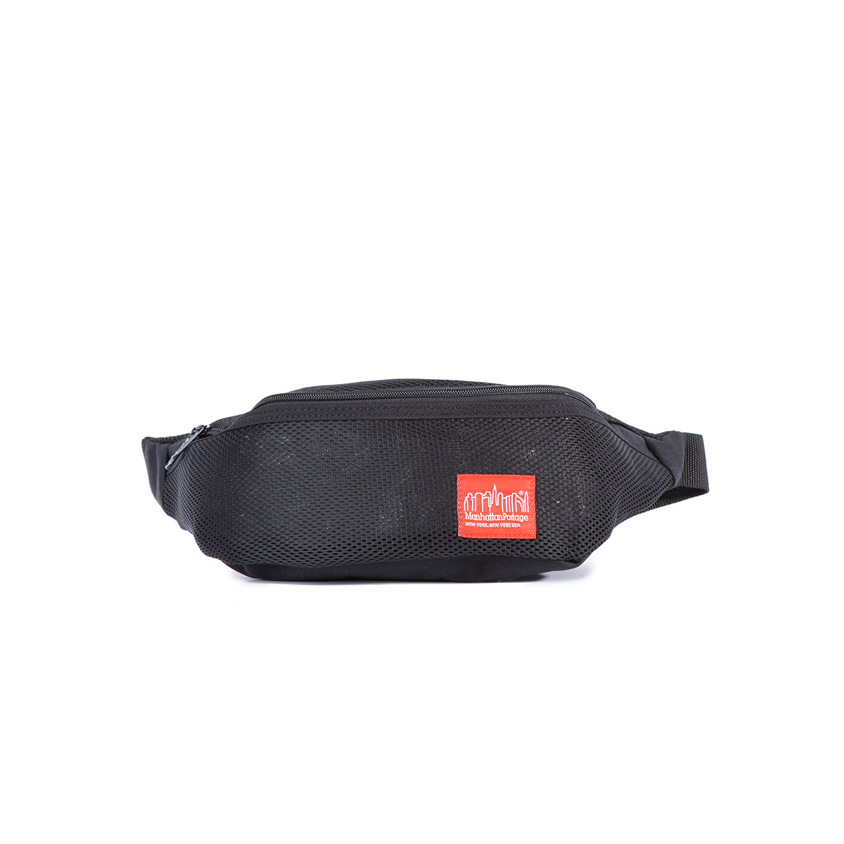 "Mesh Brooklyn Bridge Waist Bag ""BLACK"""