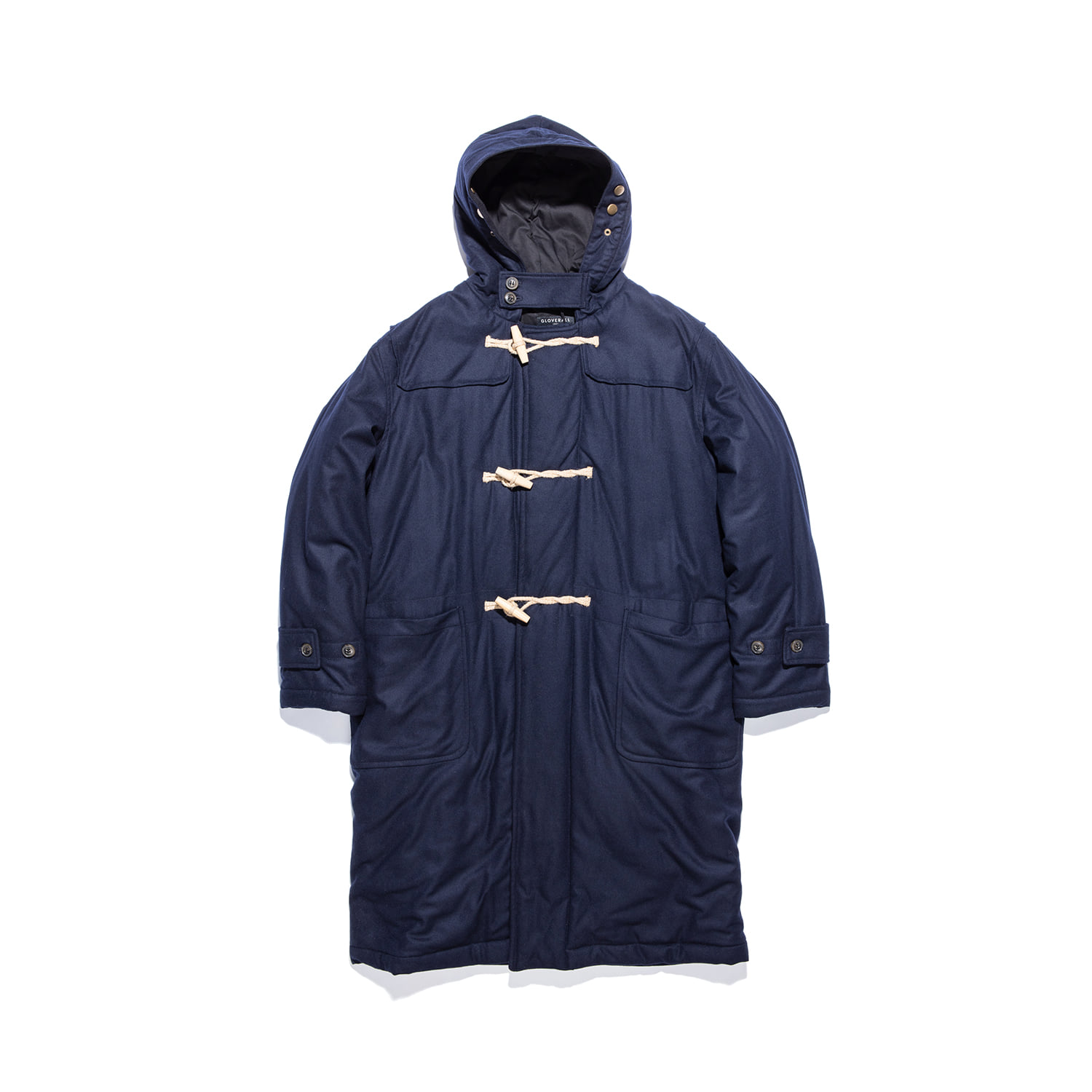 "Portsmouth Padded Duffle Coat ""NAVY"""