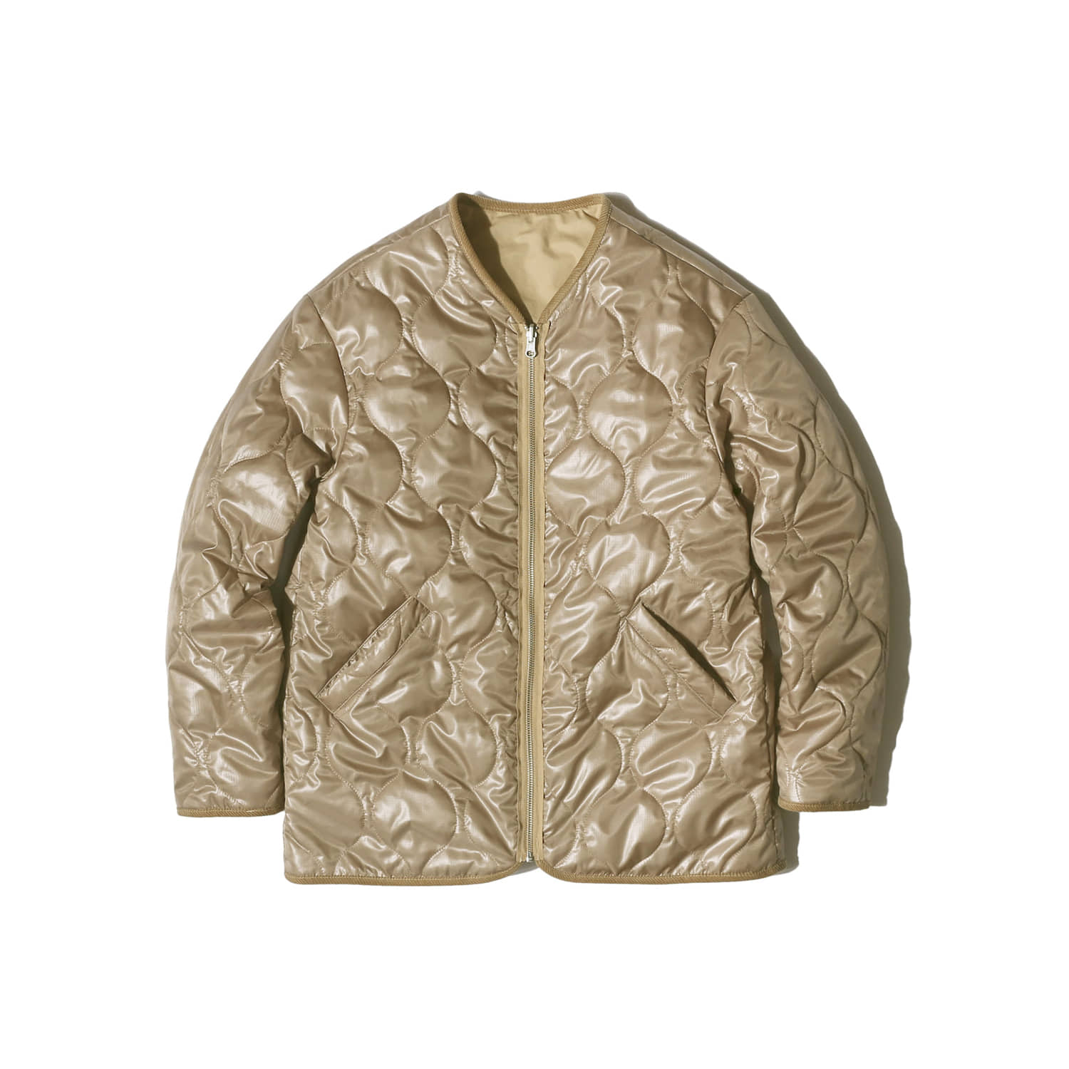 "Reversible Liner Jacket ""BEIGE"""