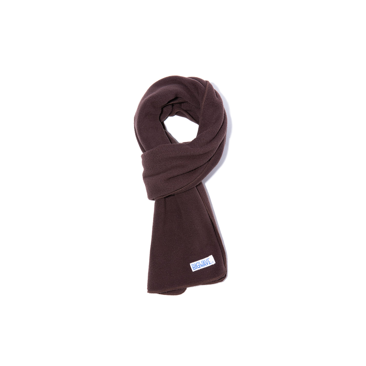 "Fleece Compact Muffler ""BROWN"""