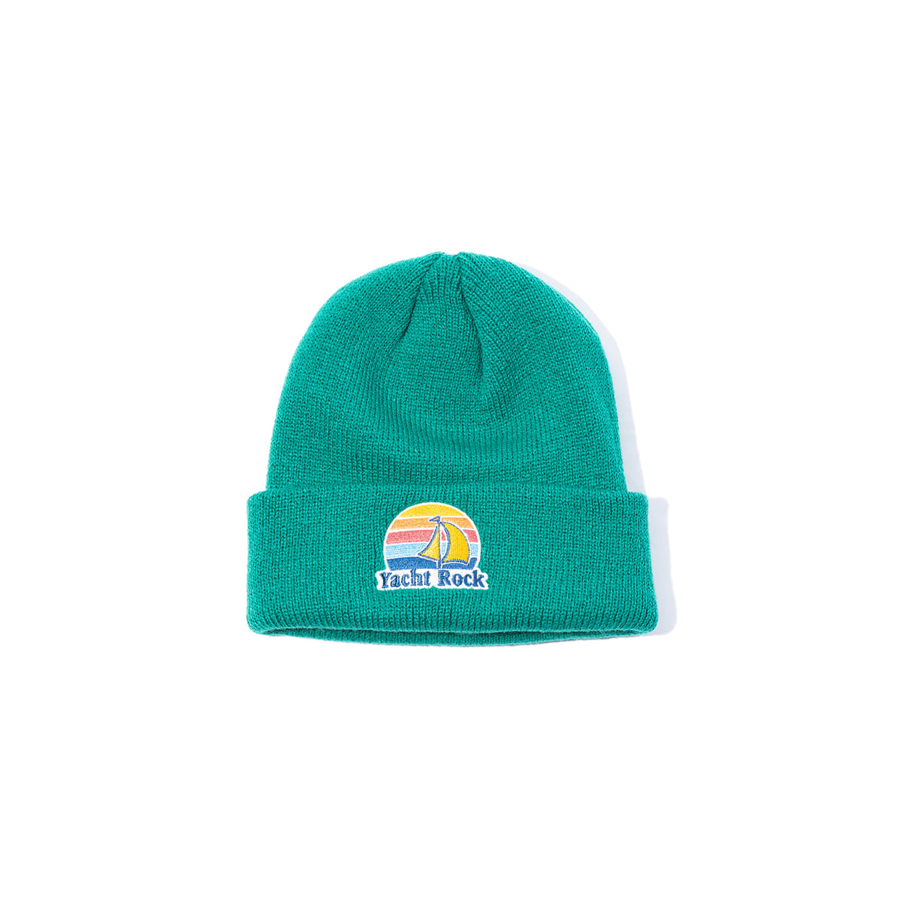 "Yacht Rock Sounds Watch Cap ""PINEGREEN"""