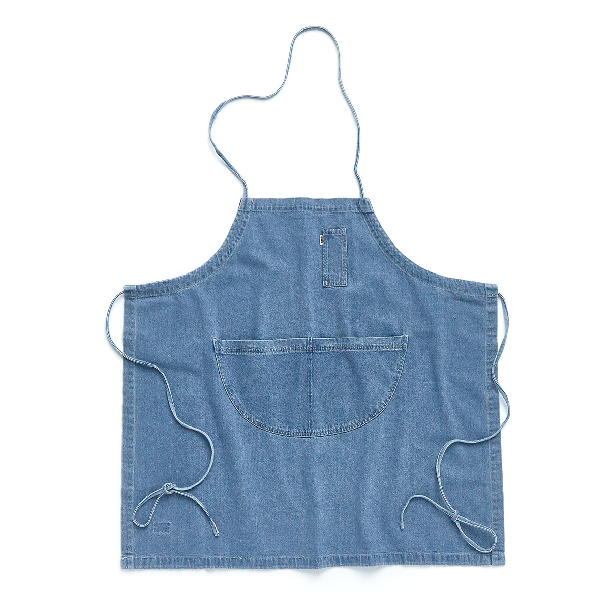"Denim Apron Long ""USED DENIM"""
