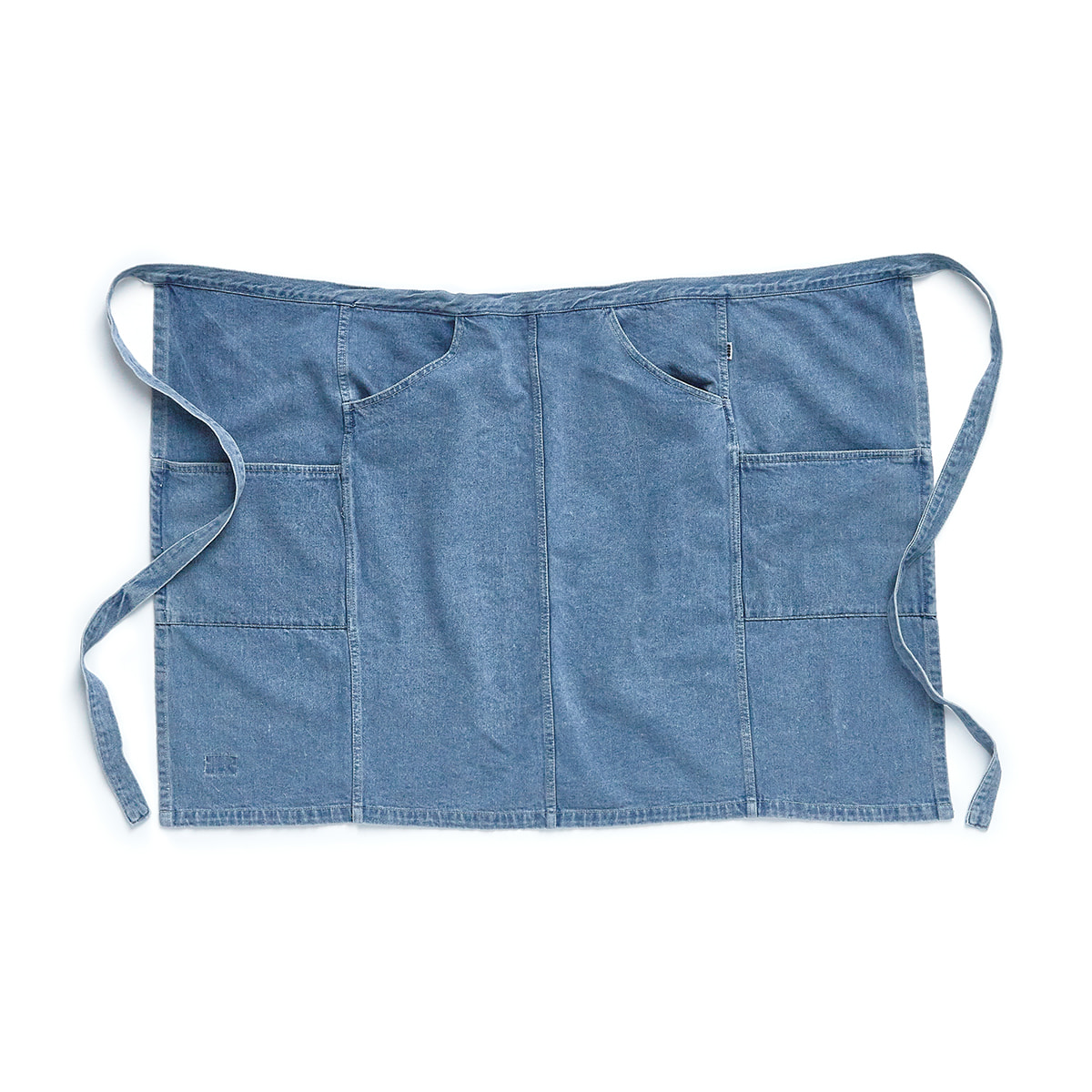 "Denim Apron Half ""USED DENIM"""