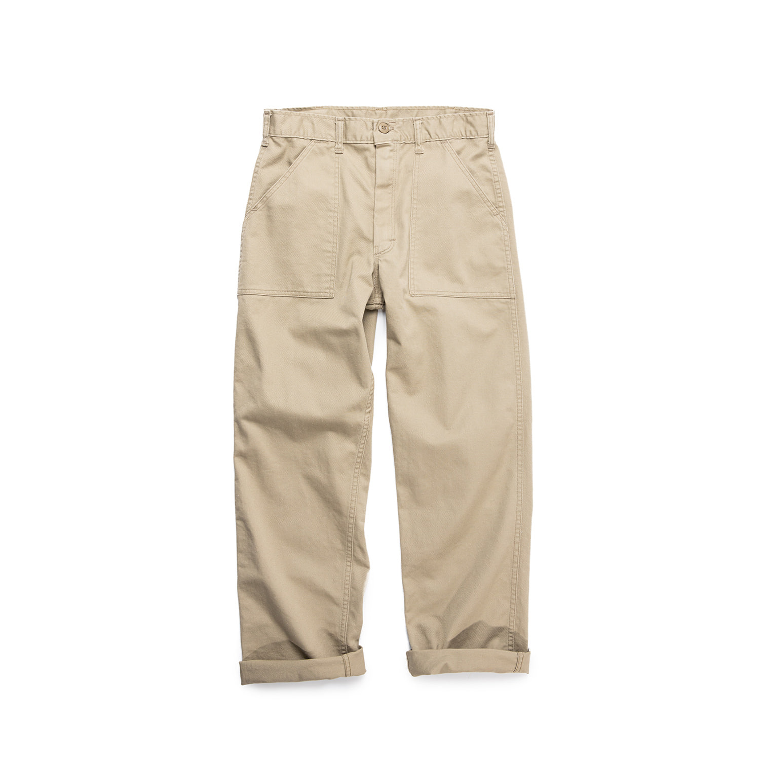 "STAN RAY  Stan Ray 4 Pocket Washed Fatigue Pants 1106P ""Khaki Twill"""