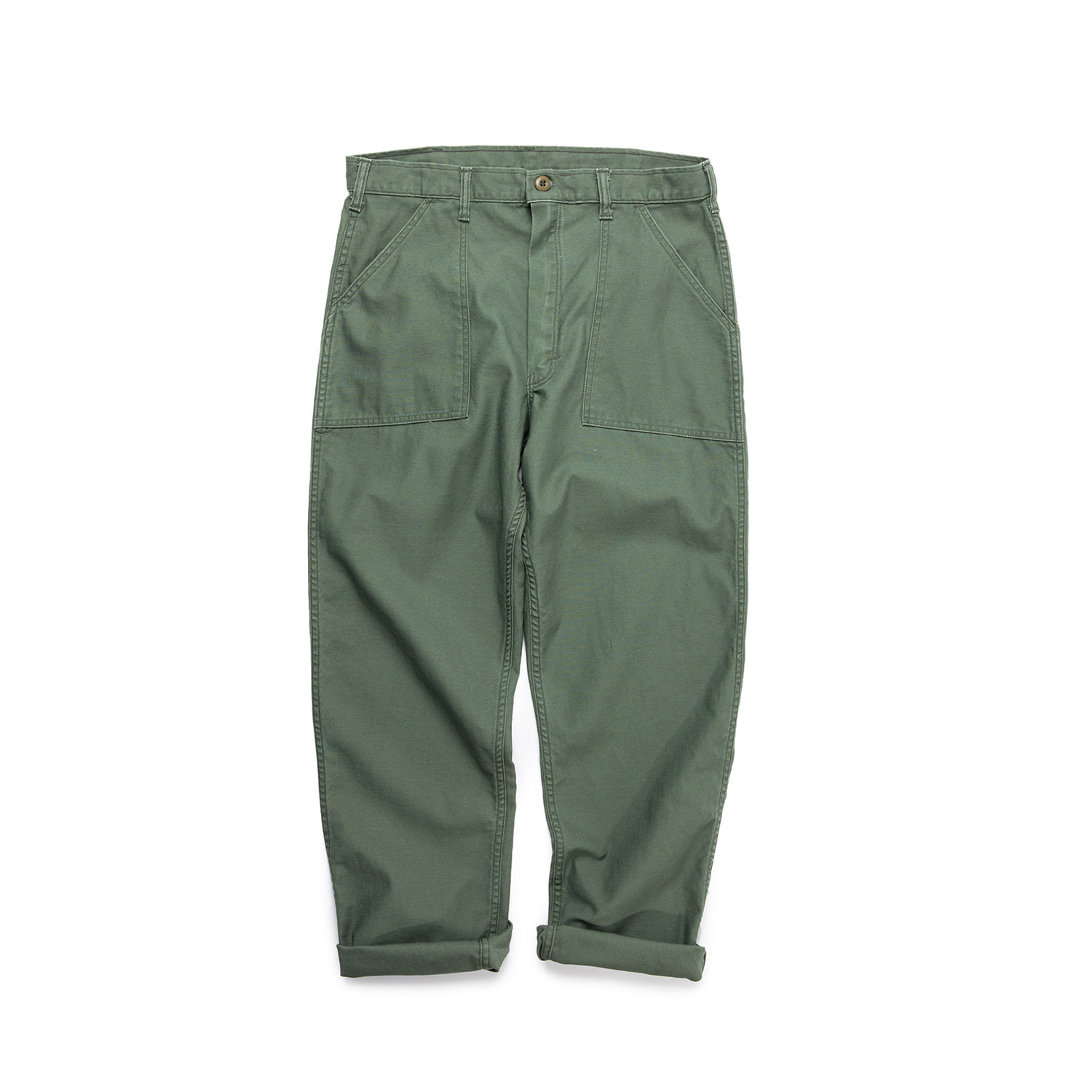 "Stan Ray 4 Pocket Washed Fatigue Pants 1101P ""O.D Sateen"""