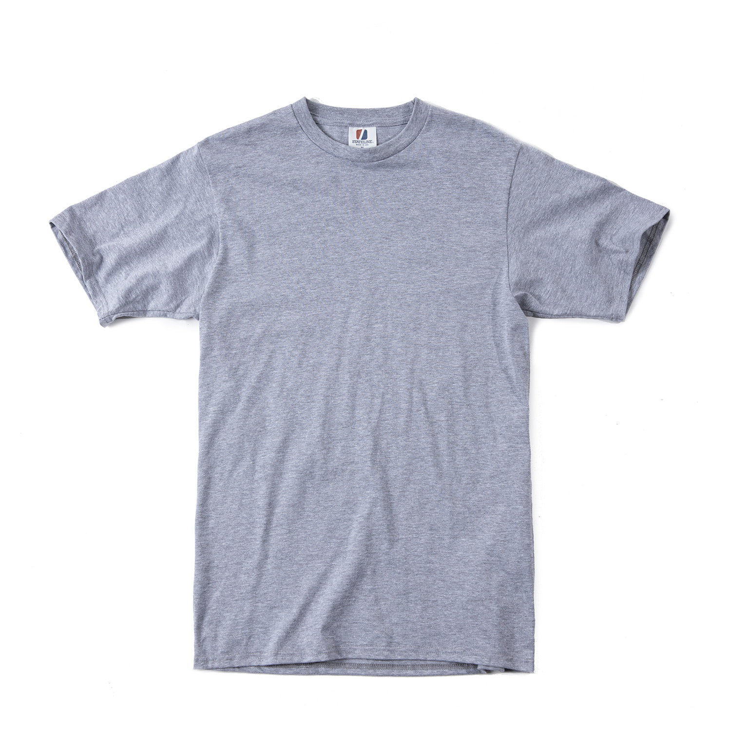 "Jersey S/S Tee ""HETHER GREY"""