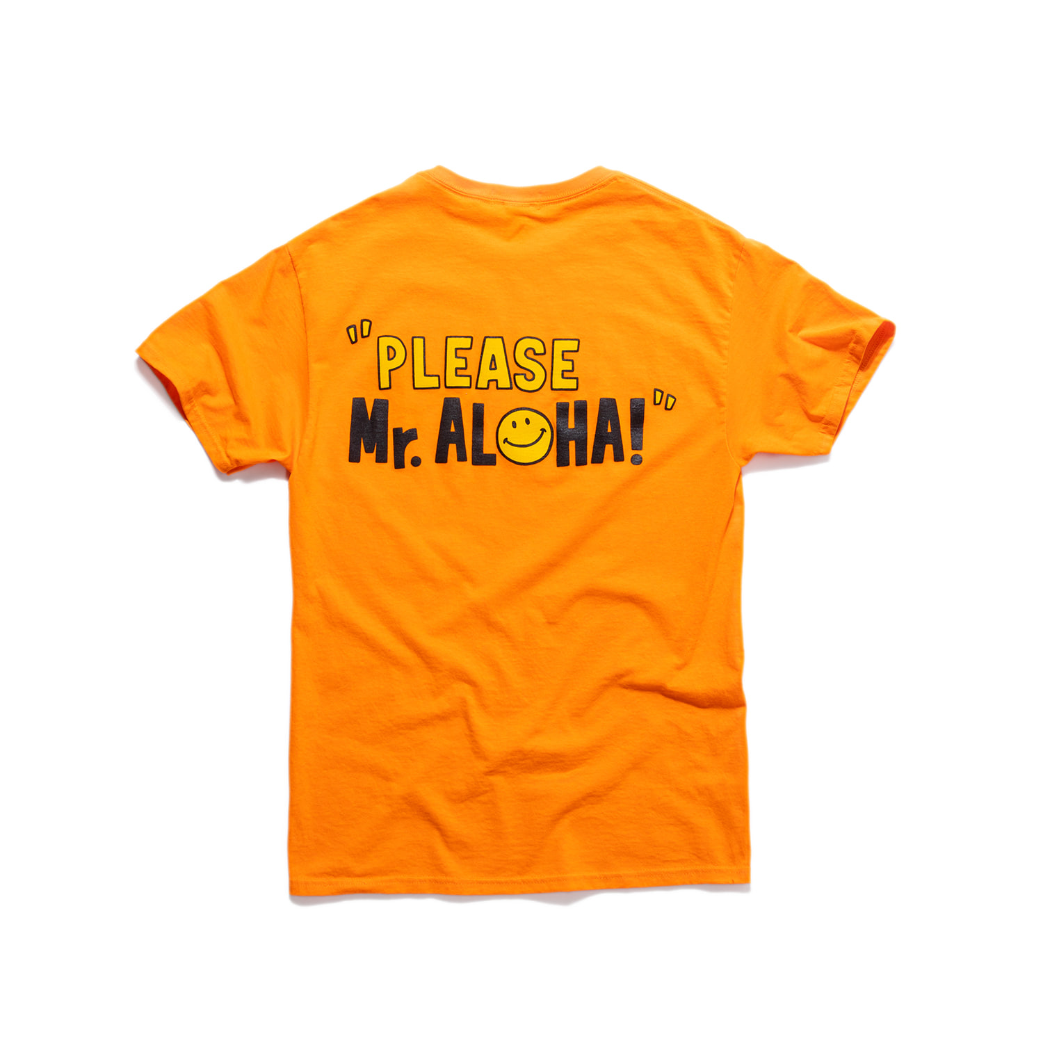 "Aloha House Tee ""80's POP ORANGE"""