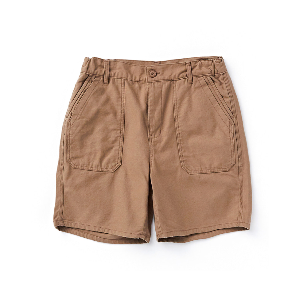 "CWSP-001 Fatigue Shorts ""BROWN"""