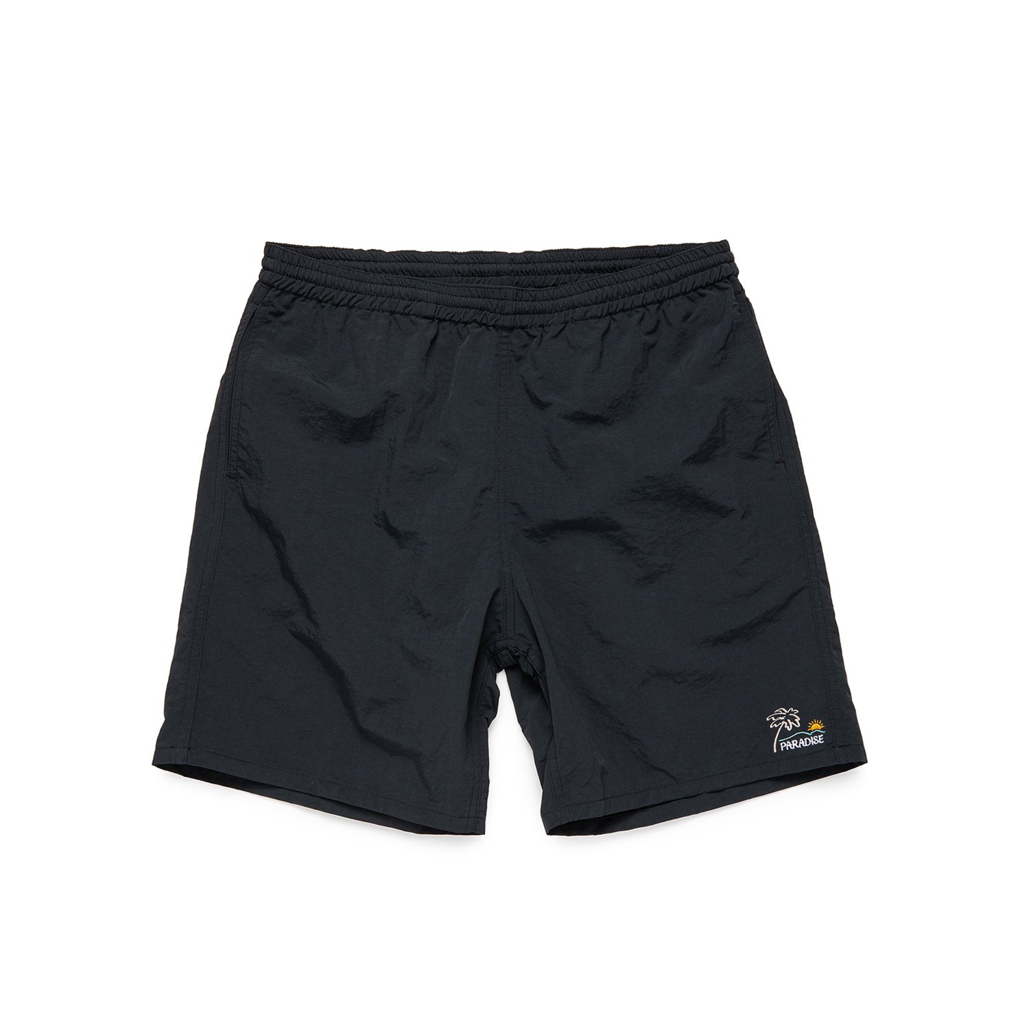 "Paradise Easy Shorts ""FADE BLACK"""
