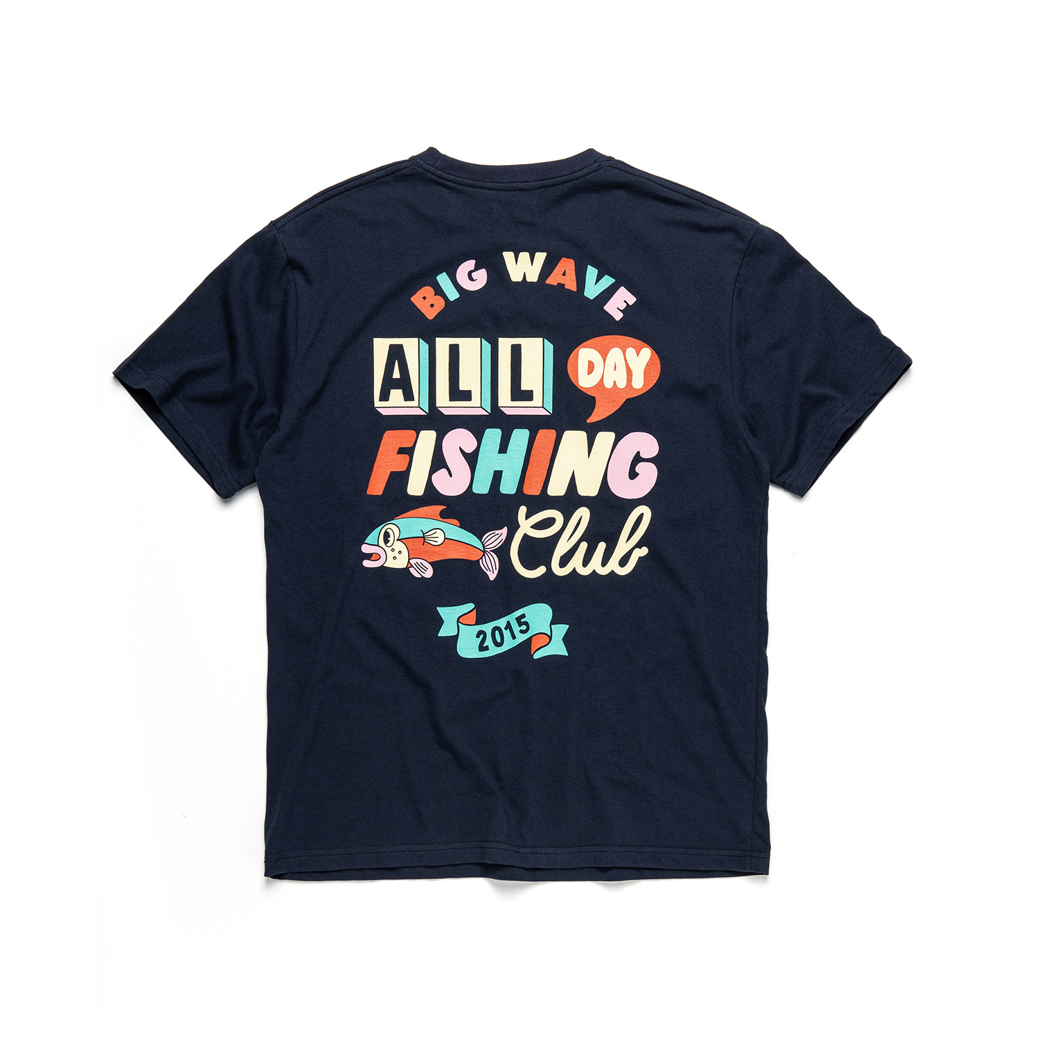 [YEYE x BW] All Day Fishing Club Tee