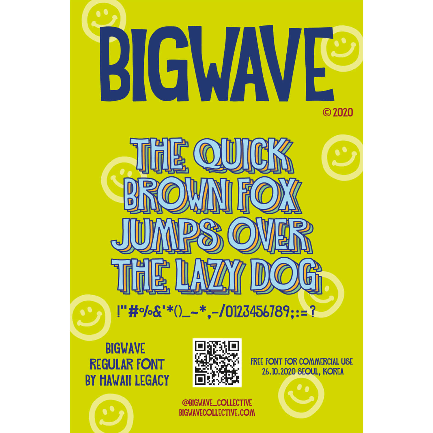 BIGWAVE 20FW EPISODE 3 [BIGWAVE FONT BY HAWAII LAGACY]
